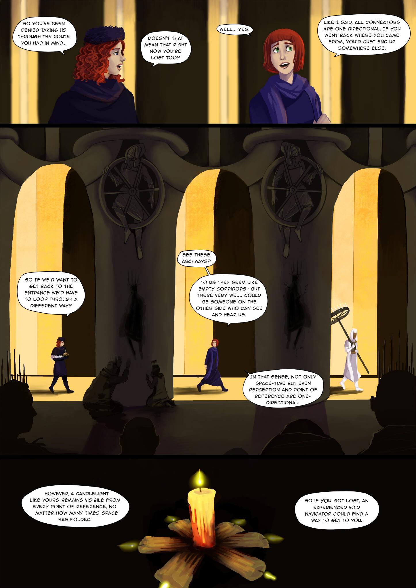 Labyrinthine death trap